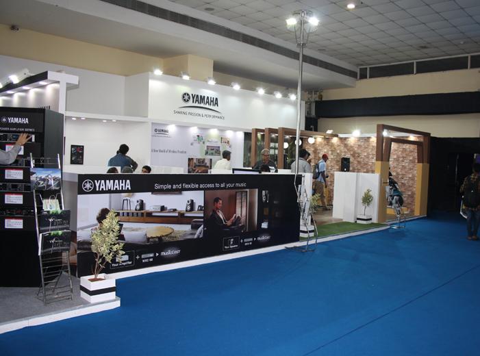 Simple Exhibition Stall : Modular exhibition stall designer modular stall designing delhi